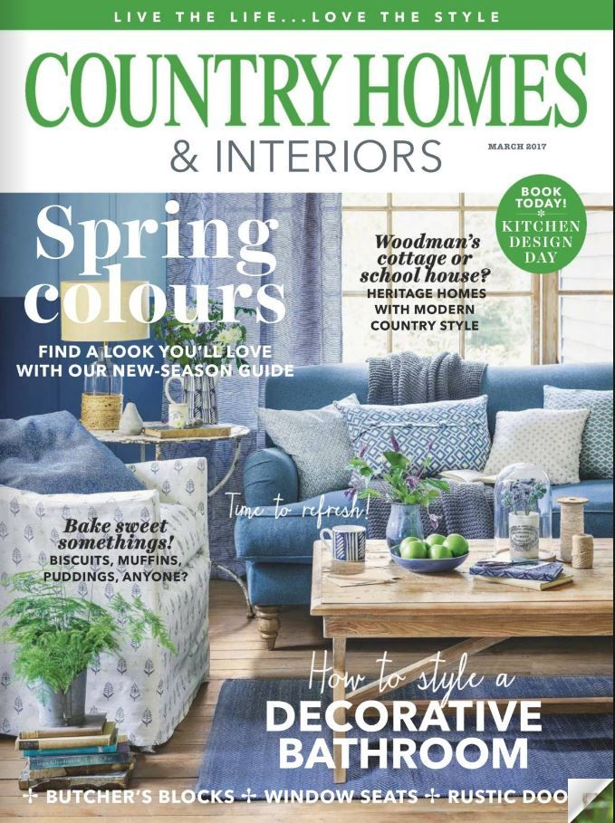 Country Homes And Interiors Maart 2017