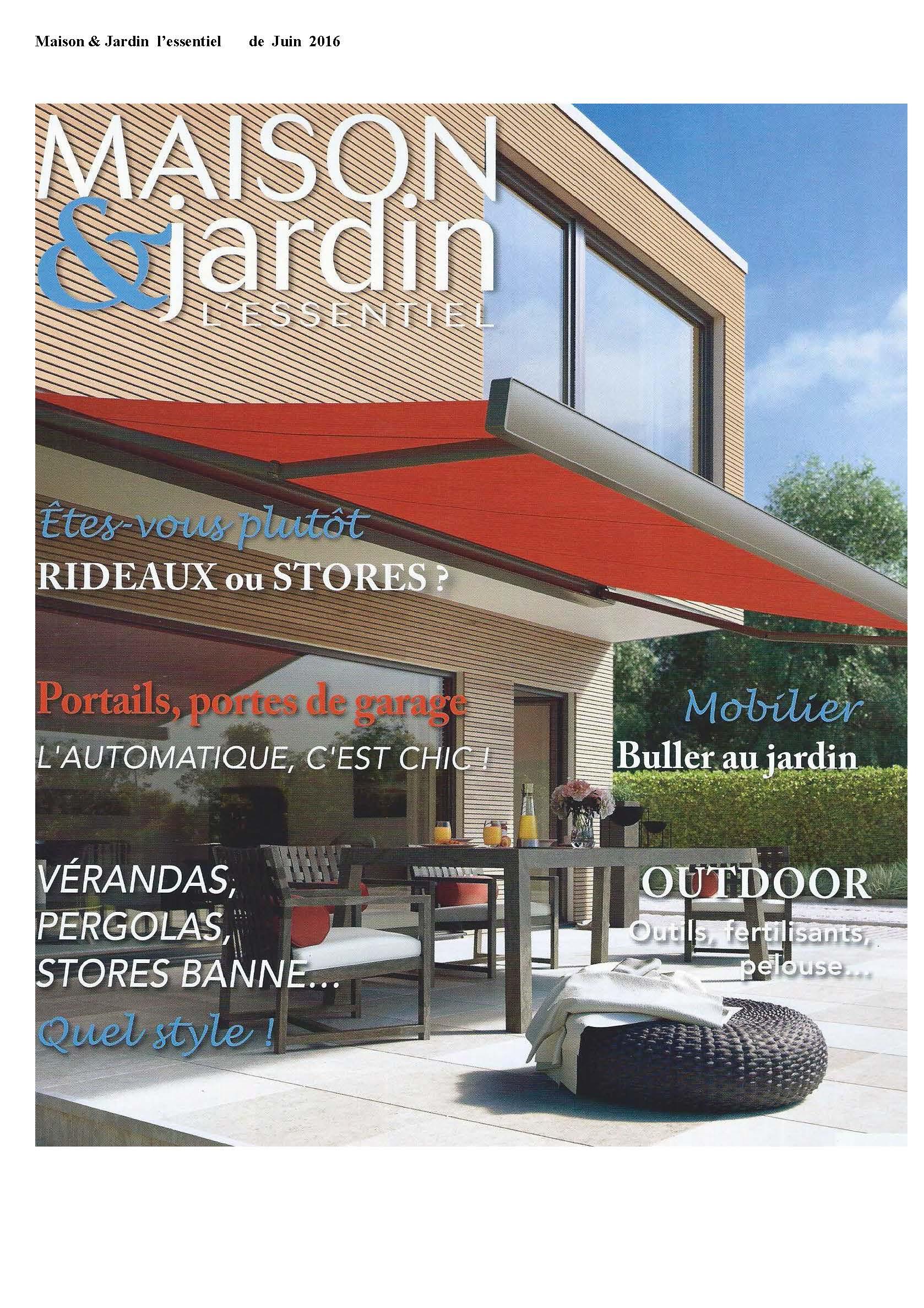 Maison & Jardin Juni 2016