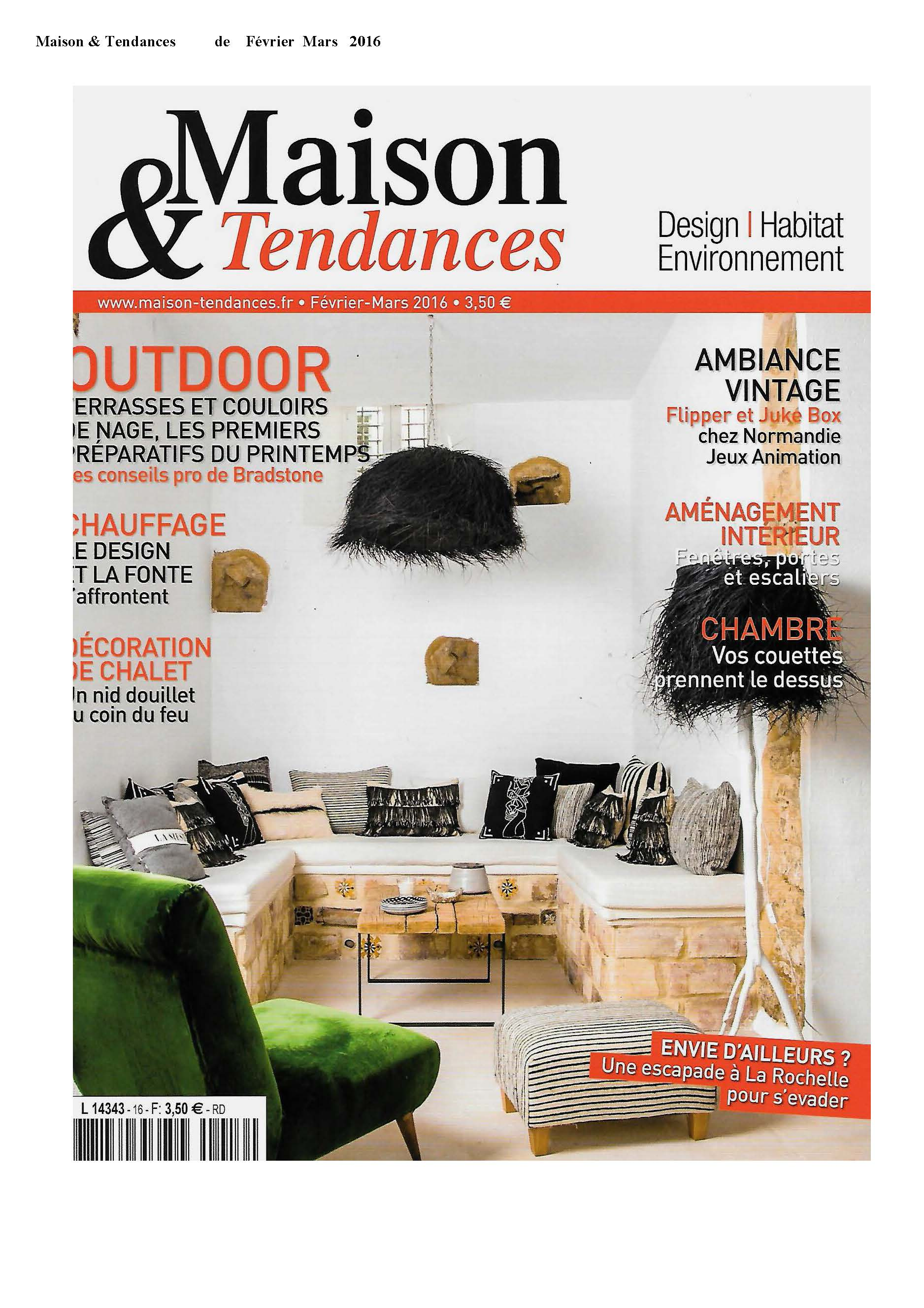 Maison & Tendances Februari-Maart 2016