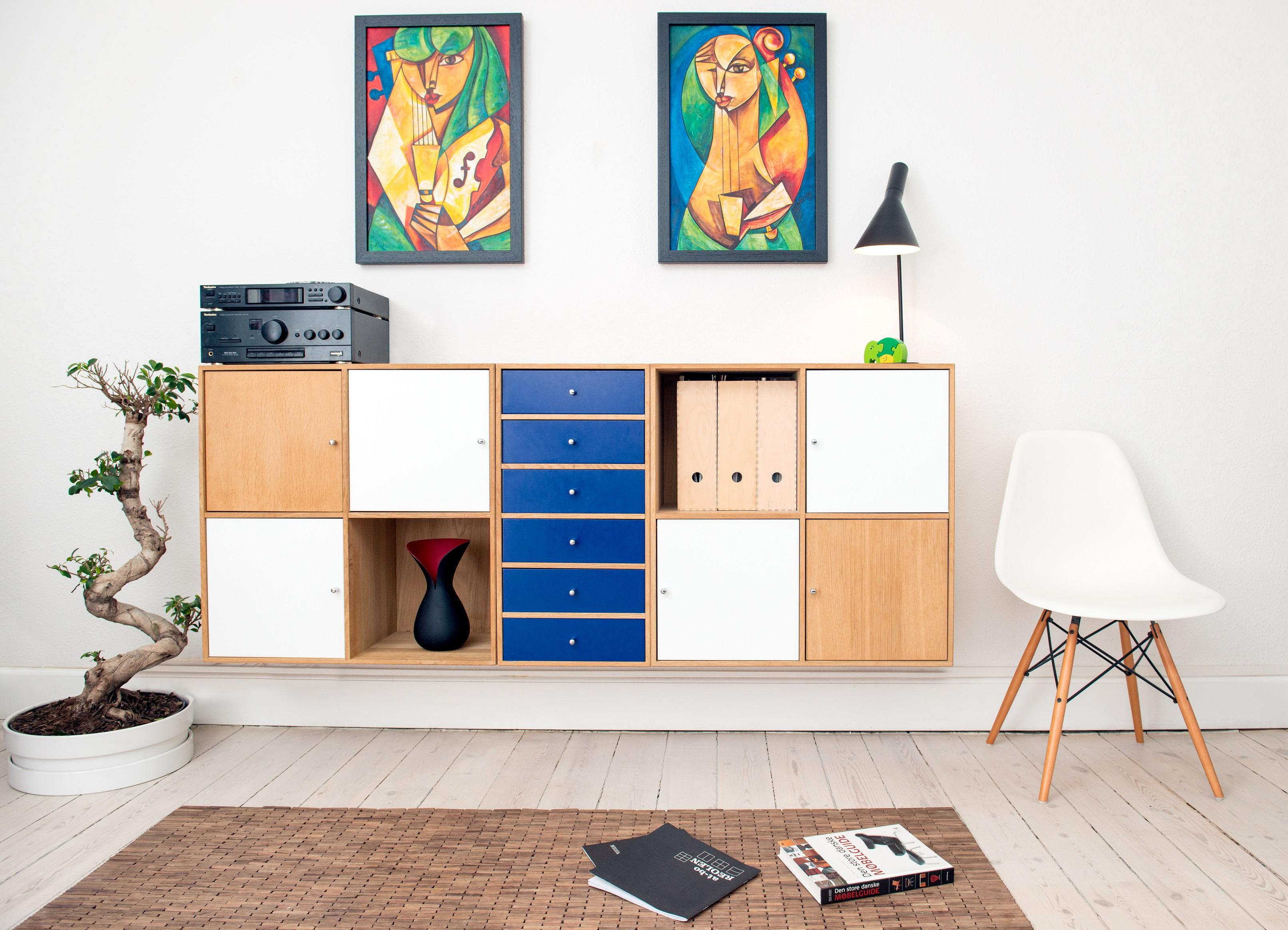 Muurdecoratie de perfecte manier om je interieur een persoonlijke touch te geven - Tijdschrift chic huis ...