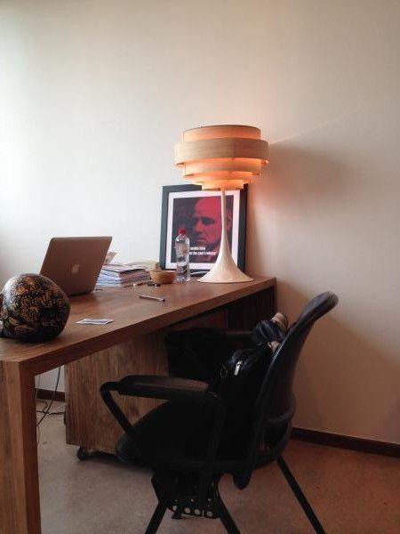 De Bor�ale lamp: gekke stijl en warm licht. We zijn PIB freaks geworden!