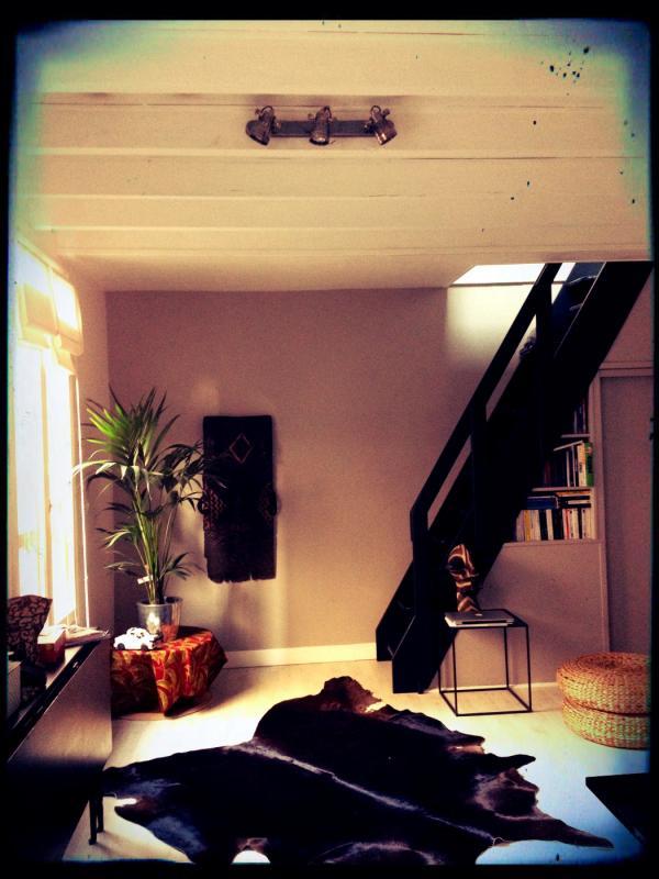 Perfect vintage industriële stijl voor mijn woonkamer met de bistro muur licht!