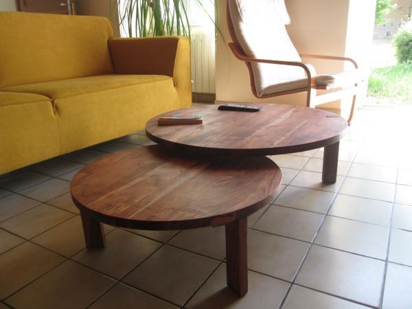 De Stockholm salontafel met dubbel tafelblad geeft een Scandinavische touch aan je kamer, super.