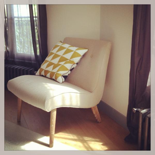 Northern vintage fauteuil