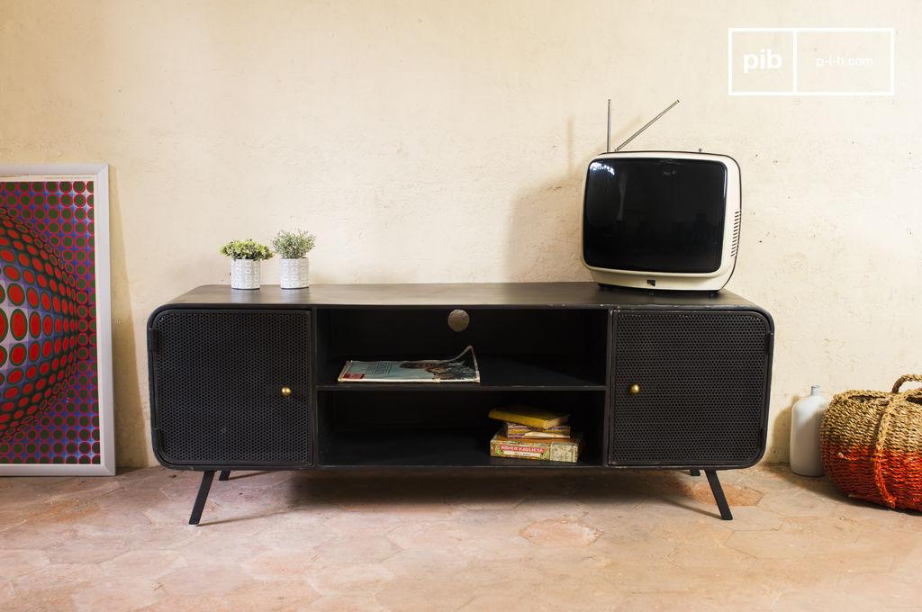 minnoterie tv meubel metalen design nette afwerking pib. Black Bedroom Furniture Sets. Home Design Ideas