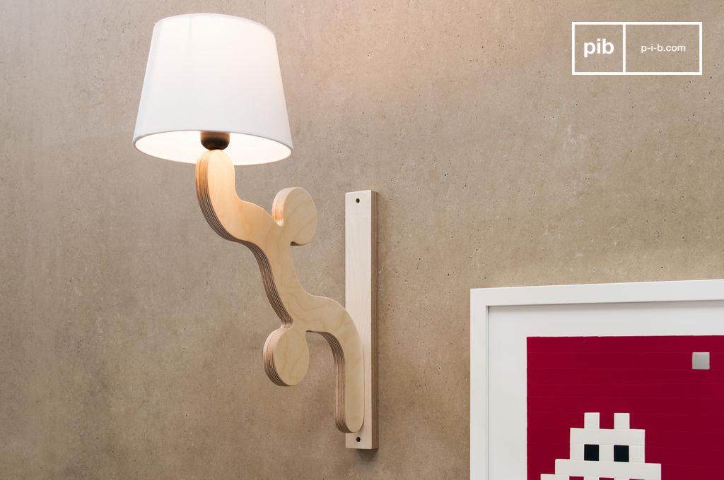 rholl wandlamp originele vormen retro design pib. Black Bedroom Furniture Sets. Home Design Ideas