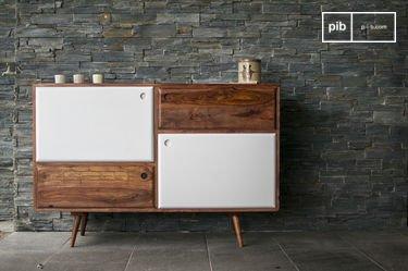 1969 houten dressoir