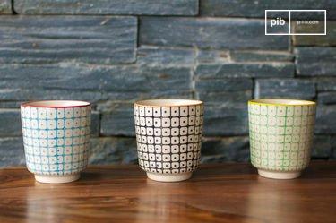 3 Brunï espressokopjes