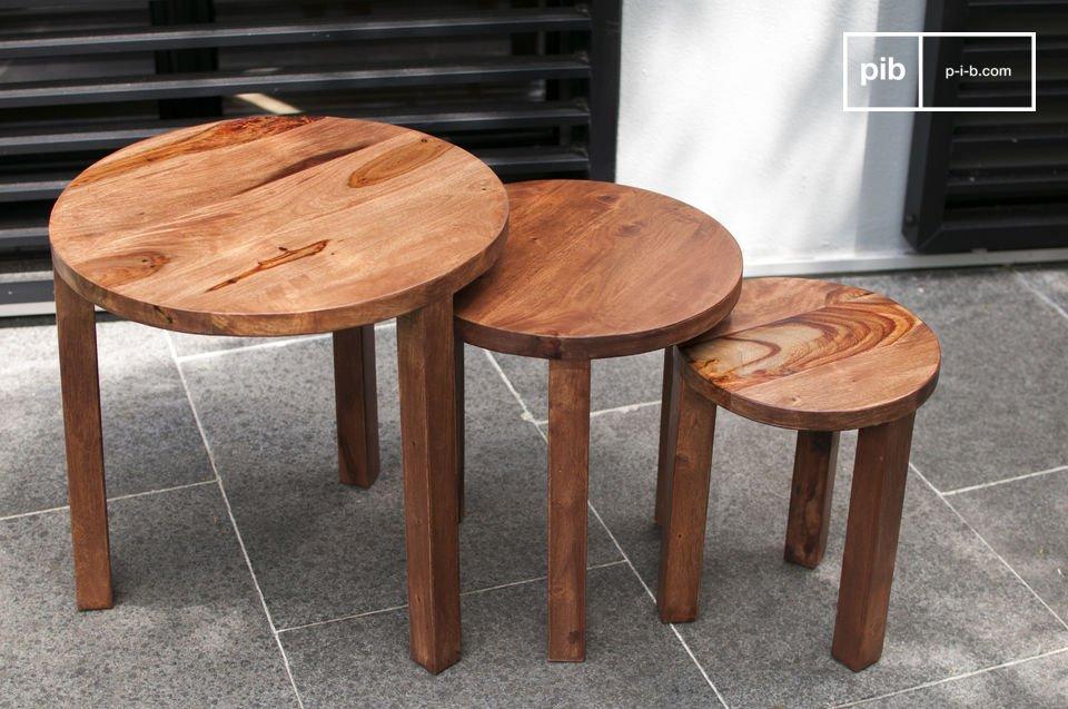 Praktisch en gemaakt van massief hout