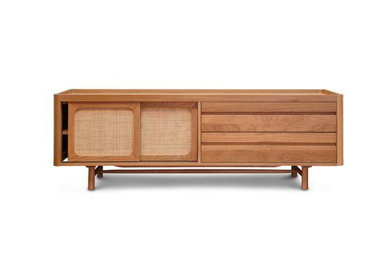 Aarne TV-meubel in licht eikenhout Productfoto