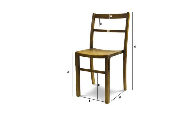 Productafmetingen Abbesses stoel