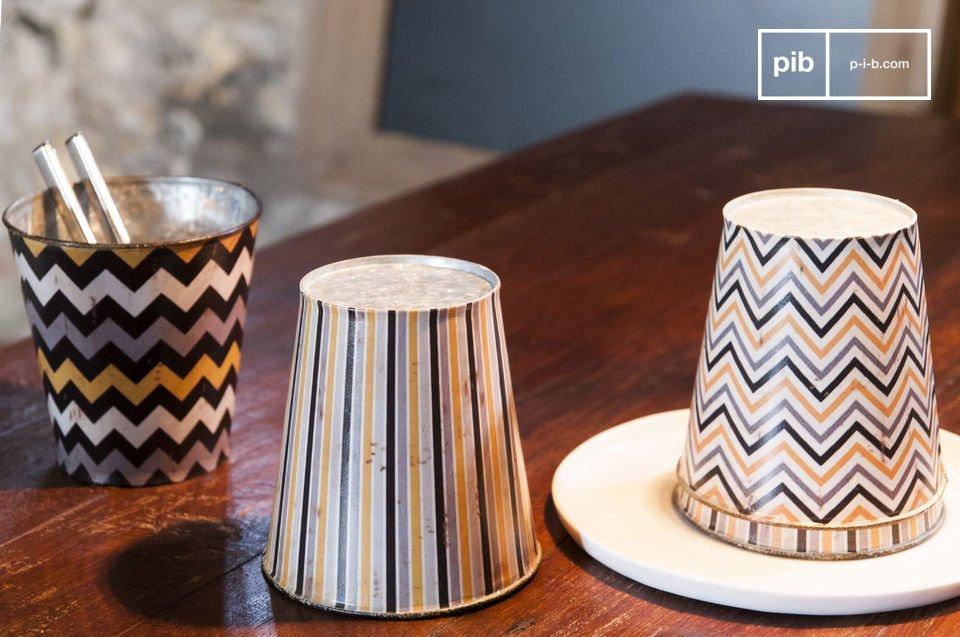 De Adira bakken zijn kleine decoratieve accessoires die de shabby chic stijl van je interieur zal