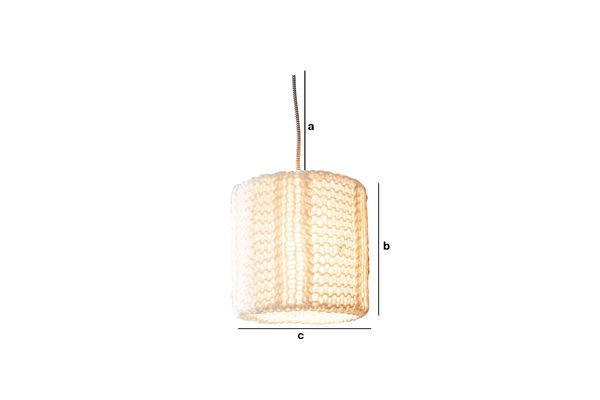 Productafmetingen Aguëla hanglamp