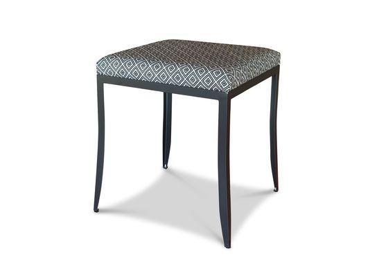 Ambroise zwart-witte stoel Productfoto