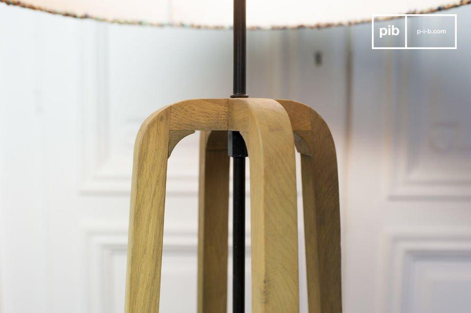 Fijn Scandinavisch design en eikenhout