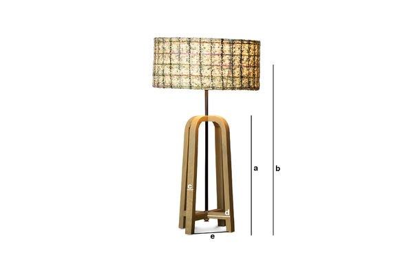 Productafmetingen Andersen tafellamp