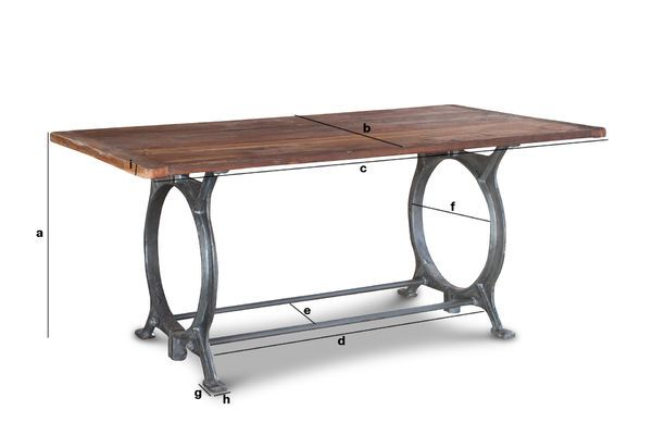 Teakhouten Tafel Bank : Antieke teakhouten tafel tonnel charme van gerecycled hout pib