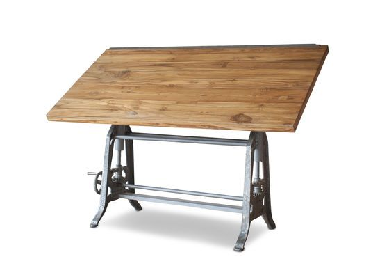 Architecten teakhouten tafel 1928 Productfoto