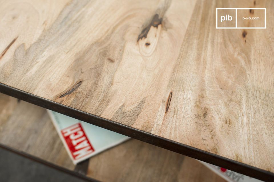 Een robuuste tafel voor de woonkamer