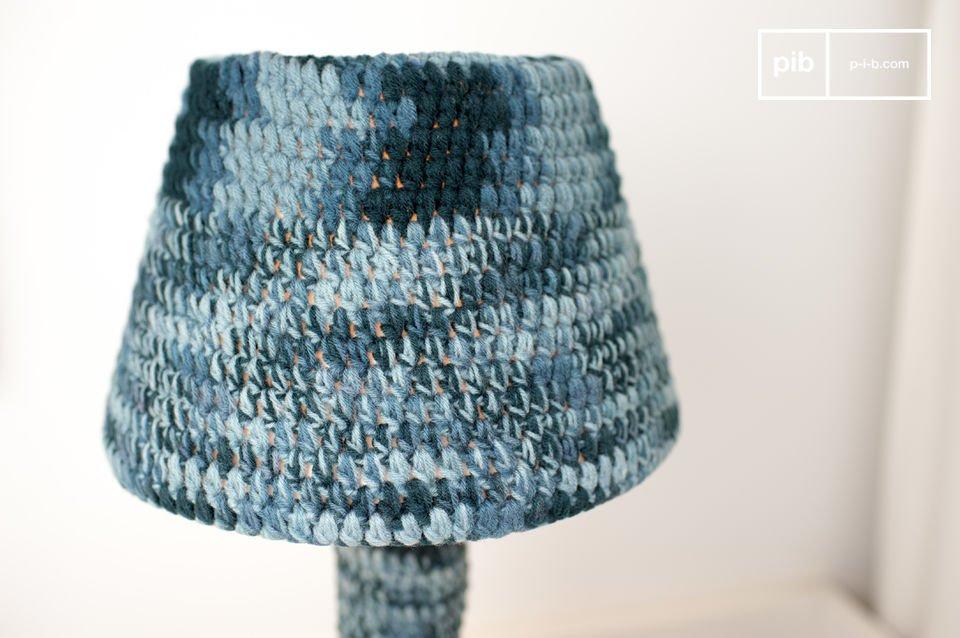 Een prachtige en originele gehaakte lamp