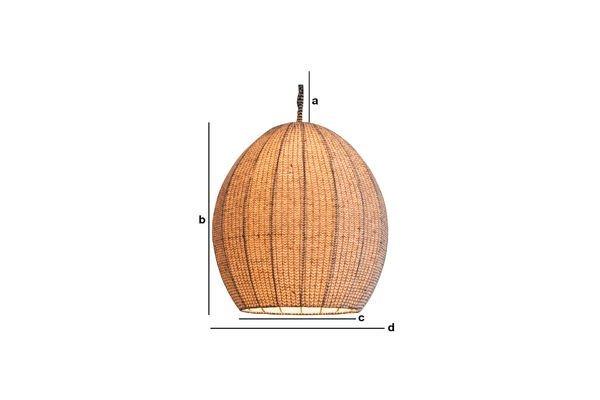 Productafmetingen Astemik hanglamp