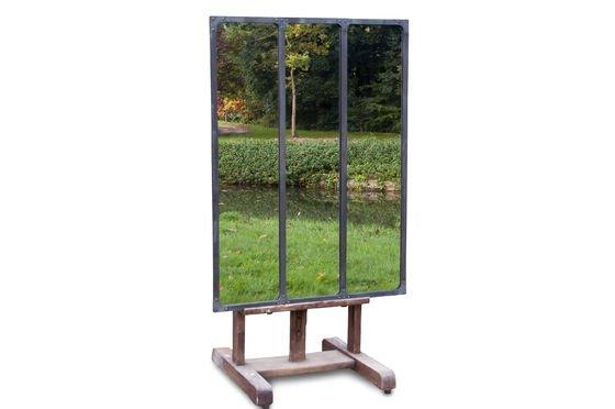 Atelier spiegel met metalen frame Productfoto