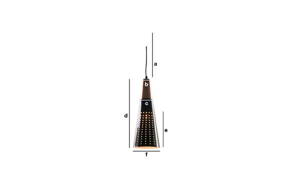 Productafmetingen Balero hanglamp