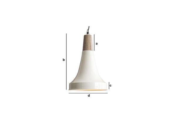 Productafmetingen Balissö hanglamp