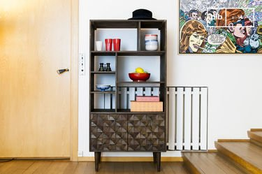 Balkis houten boekenkast