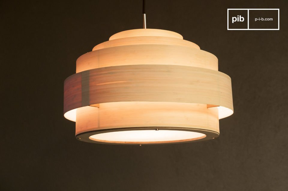 Bamboe hanglamp 40 cm