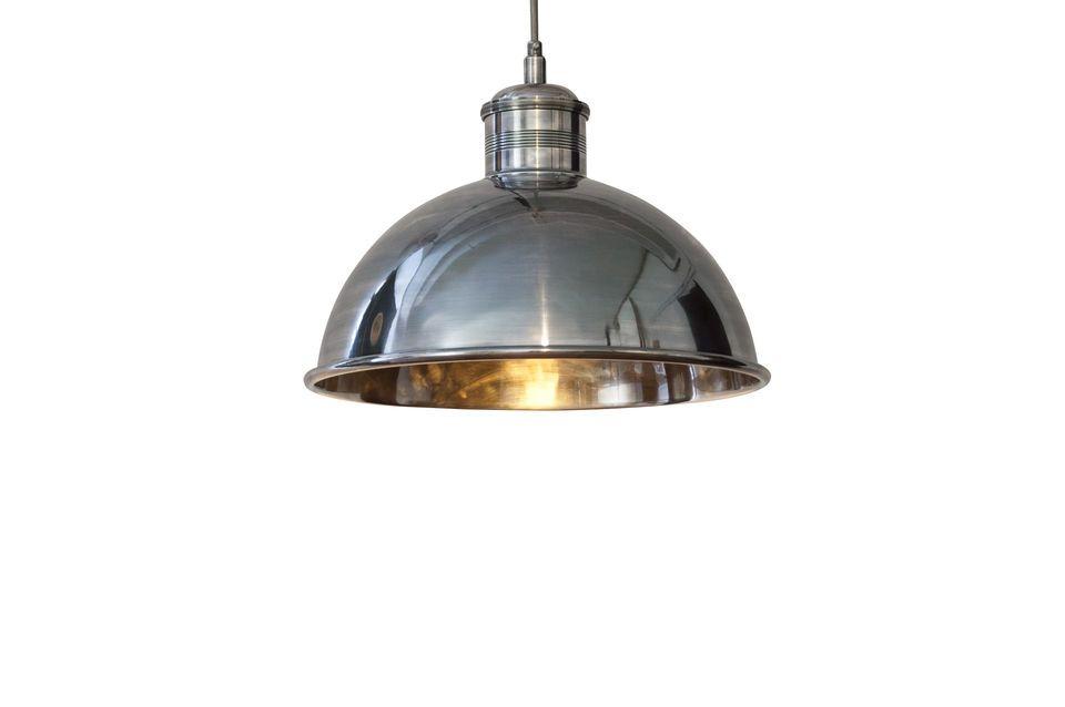 Super retro-chic hanglamp met een diameter van 40 cm