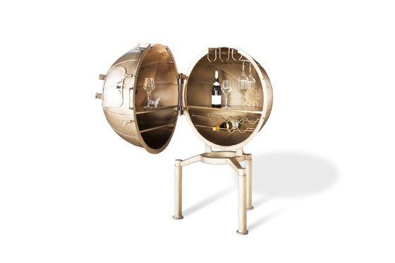 Bar Globe Jules Vernes Productfoto