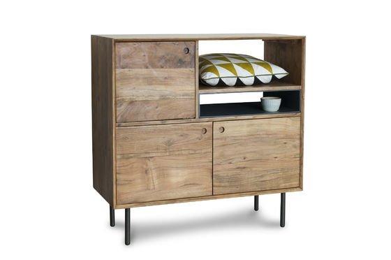 Bascole hoog houten dressoir Productfoto