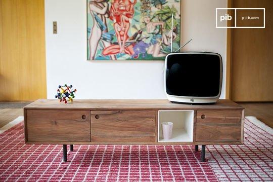 Retro tv meubels in scandinavische stijl snel weer terug in de