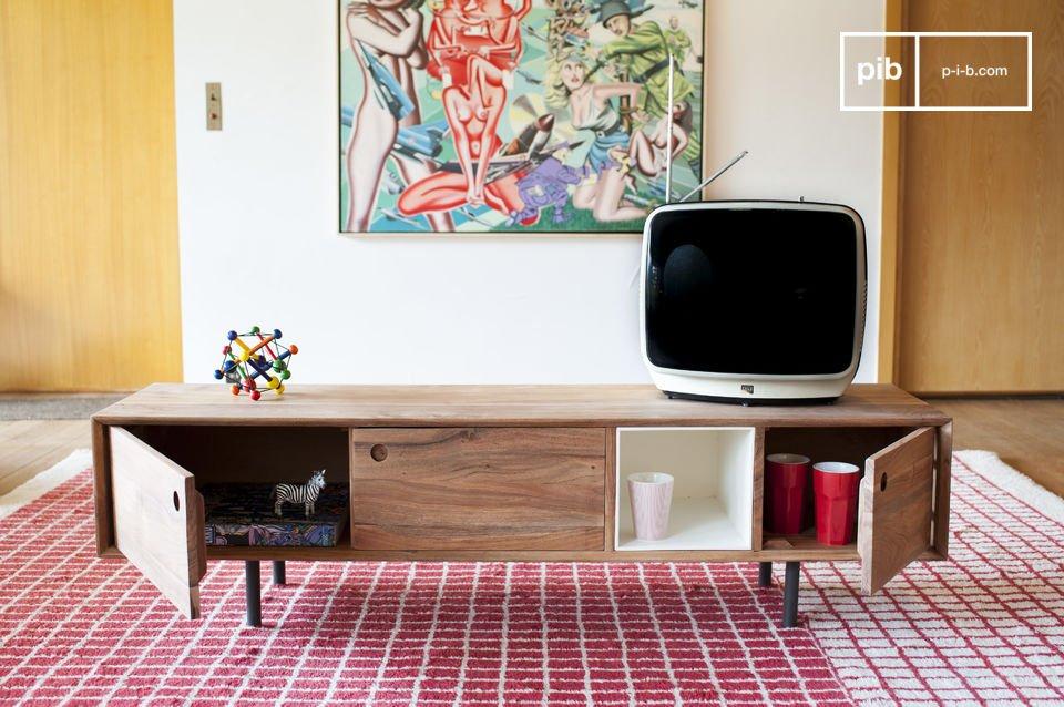 Design met contrasten in een vintage stijl