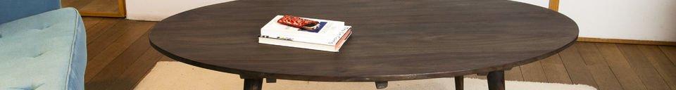 Benadrukte materialen Bikhatz salontafel