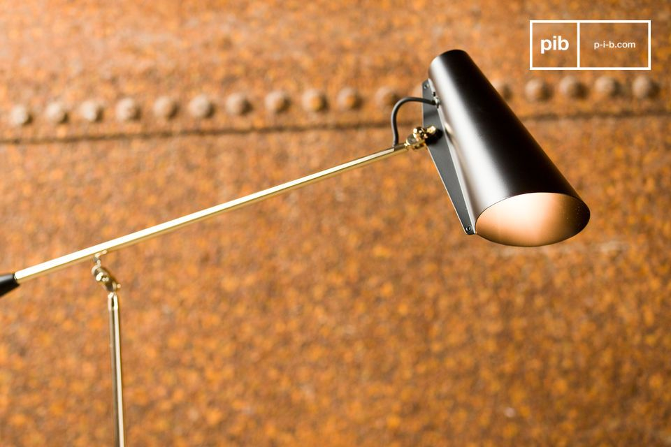 Een elegante lamp geïnspireerd op de jaren '50