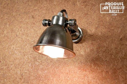 Bistro schroef wandlamp