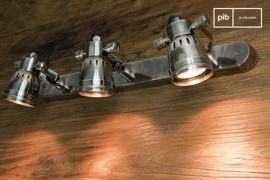 Bistro triple-lamp wandlamp