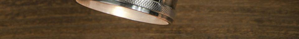 Benadrukte materialen Bistro triple wandlamp