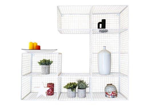 Blanche Rosa muurschildering boekenkast Productfoto