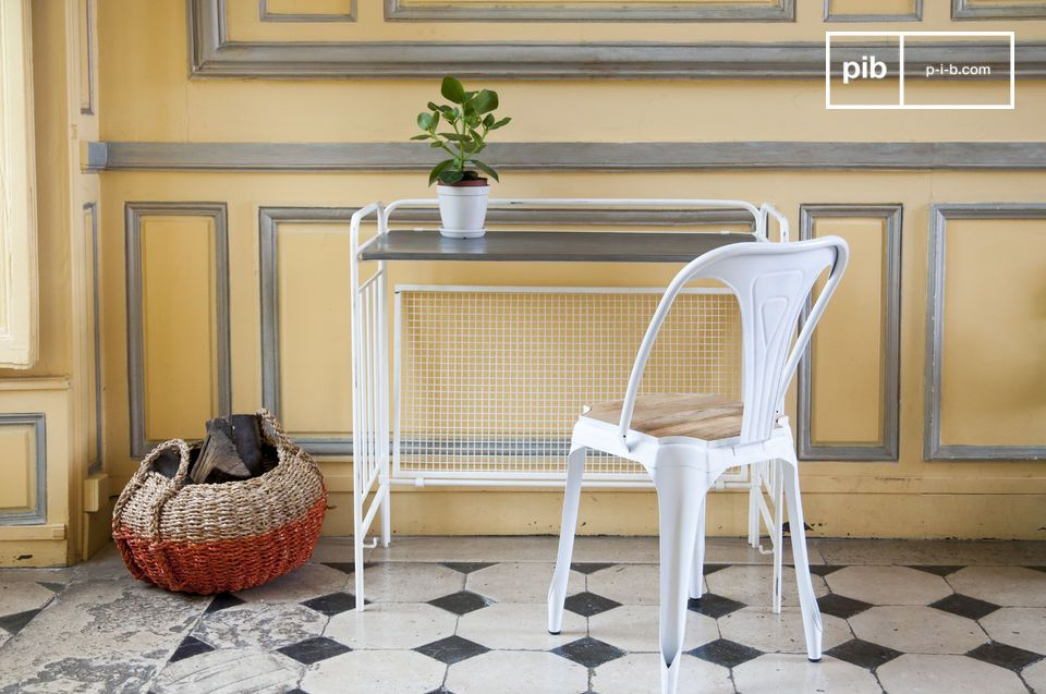 Dit maakt het mogelijk om de perfecte retro look te creëren die aan de oude bloemisttafels