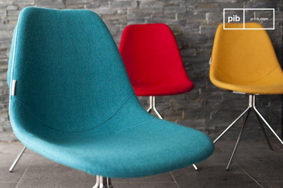 Geïnspireerd op de jaren '60, verkrijgbaar in meerdere kleuren