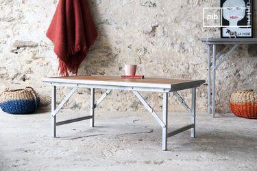 Bollène salontafel in teak