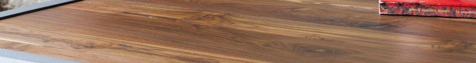 Benadrukte materialen Bollène salontafel in teak