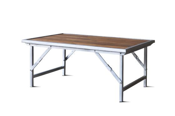 Bollène salontafel in teak Productfoto