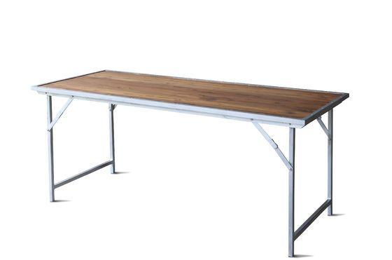 Bollène tafel in teakhout Productfoto