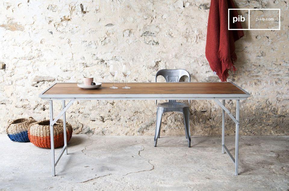 Bollène tafel in teakhout