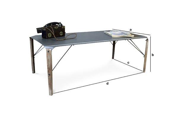 Productafmetingen Bow salontafel