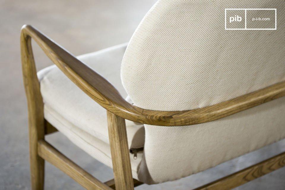 Comfort in combinatie met de finesse van de Scandinavische retro stijl